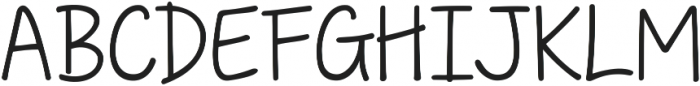 KG Traditional Fractions ttf (400) Font UPPERCASE