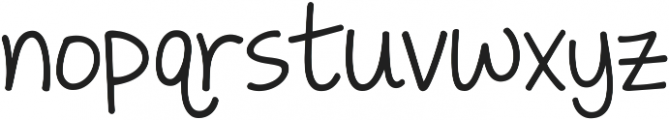 KG Traditional Fractions ttf (400) Font LOWERCASE