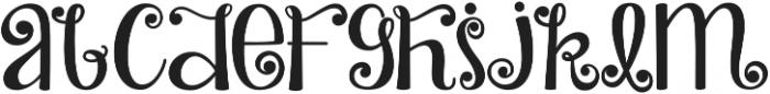 KG Turning Tables ttf (400) Font UPPERCASE