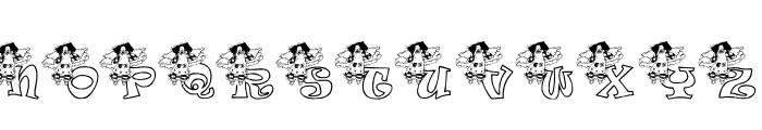 KG ANGEL1 Font UPPERCASE