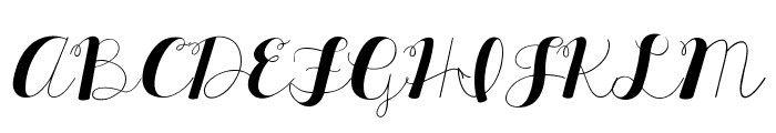 KG All Things New Font UPPERCASE