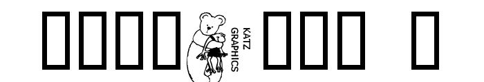 KG BEAR&FROG Font OTHER CHARS