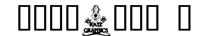 KG BUNS1 Font OTHER CHARS