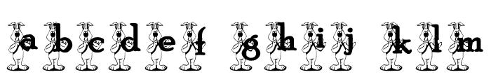 KG BUNS1 Font LOWERCASE