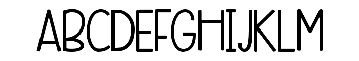 KG Beneath Your Beautiful Chunk Font UPPERCASE