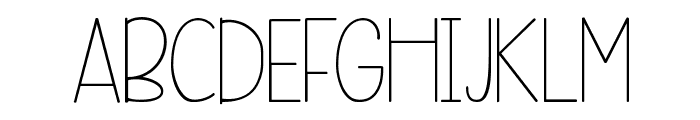 KG Beneath Your Beautiful Font UPPERCASE
