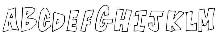 KG Blocked Off Font UPPERCASE