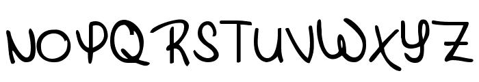 KG Brick by Boring Brick Font UPPERCASE