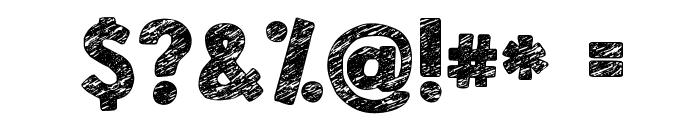 KG Broken Vessels Sketch Font OTHER CHARS