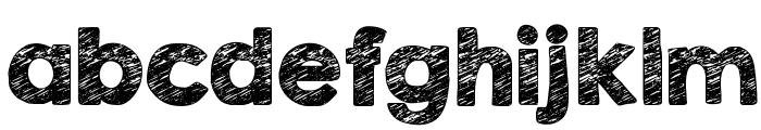 KG Broken Vessels Sketch Font LOWERCASE
