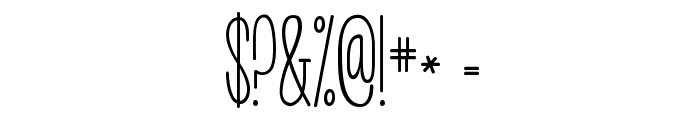 KG Call Me Maybe -skinny Font OTHER CHARS