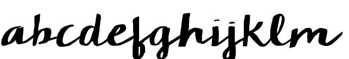 KG Chelsea Market Script Font LOWERCASE