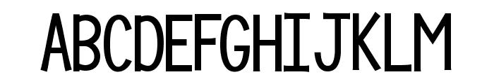 KG Compassion Big Regular Font UPPERCASE