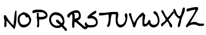 KG Contrary Mary Font UPPERCASE