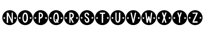 KG Counting Stars Font LOWERCASE