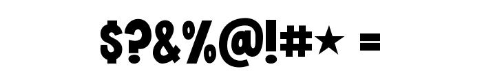 KG Crossing A Line Regular Font OTHER CHARS