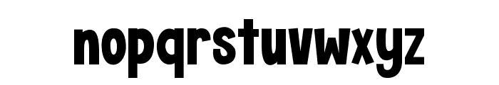 KG Crossing A Line Regular Font LOWERCASE