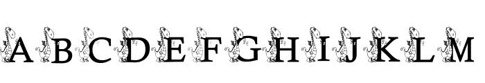 KG DRAGON Font UPPERCASE