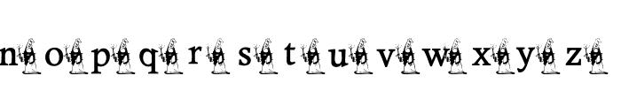 KG DRAGON Font LOWERCASE