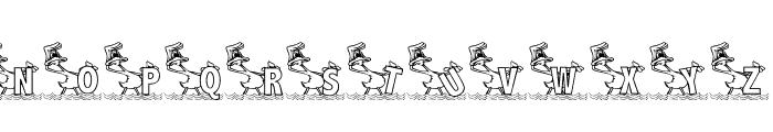 KG DUCKS2 Font UPPERCASE