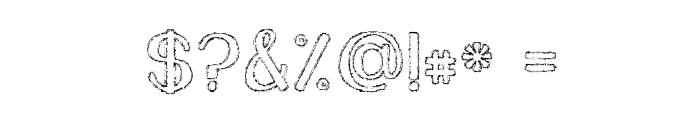 KG Daylight Font OTHER CHARS
