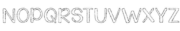 KG Daylight Font UPPERCASE