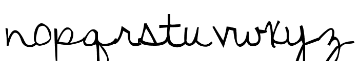 KG Discover Beauty Font LOWERCASE