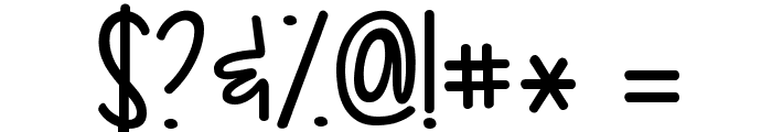 KG Drops of Jupiter Font OTHER CHARS
