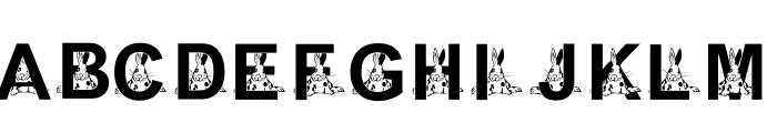 KG EASTER1 Font UPPERCASE