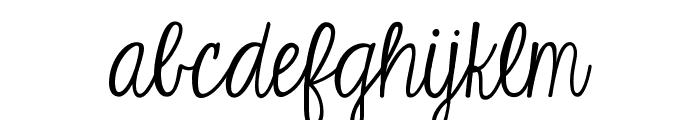 KG Eyes Wide Open Font LOWERCASE