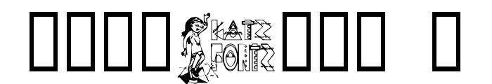 KG FUNKYGIRL Font OTHER CHARS