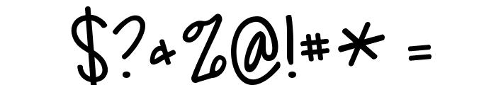 KG Feeling 22 Font OTHER CHARS