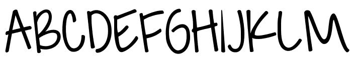 KG Feeling 22 Font UPPERCASE