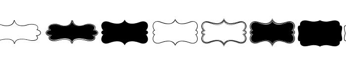 KG Flavor And Frames Four Font UPPERCASE