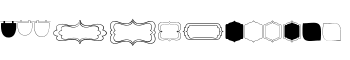 KG Flavor And Frames Four Font LOWERCASE