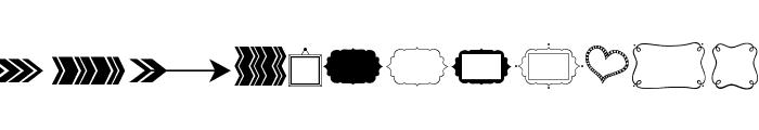 KG Flavor And Frames Two Font UPPERCASE