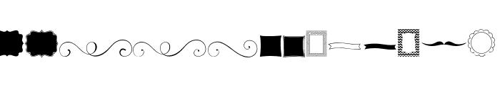 KG Flavor and Frames Font LOWERCASE