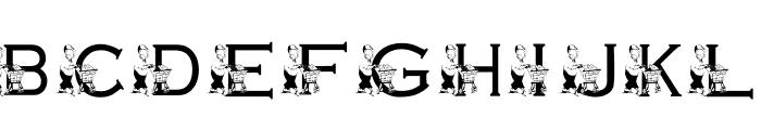 KG GROCERY Font UPPERCASE