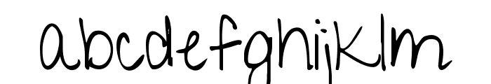 KG Give You Glory Font LOWERCASE
