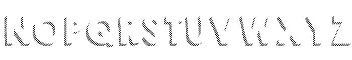 KG HAPPY Shadows Font UPPERCASE