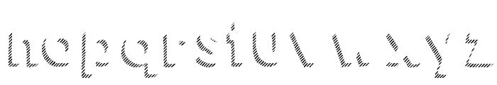 KG HAPPY Shadows Font LOWERCASE