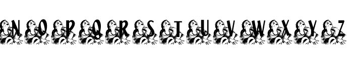 KG HIGH SOCIETY Font UPPERCASE