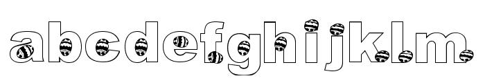 KG Hippity Hop Font LOWERCASE