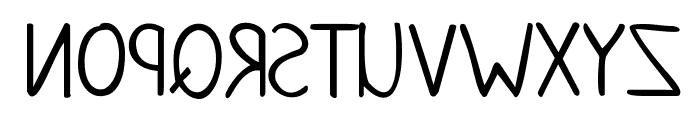 KG June Bug Reverse Font UPPERCASE