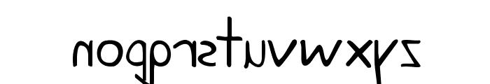 KG June Bug Reverse Font LOWERCASE
