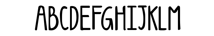 KG Luck of the Irish Font UPPERCASE