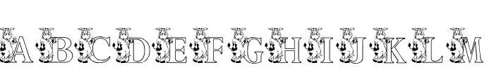 KG MOO Font UPPERCASE