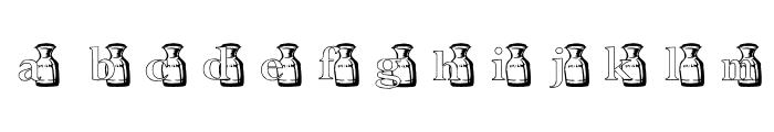 KG MOO Font LOWERCASE
