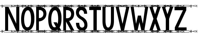KG Modern Monogram Font UPPERCASE