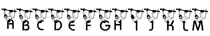 KG Monkey Font UPPERCASE